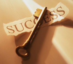 You need a key. You know, for success.